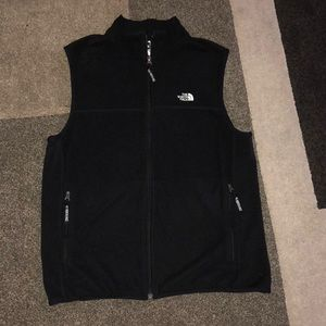 Men's The Northface black sweater vest L